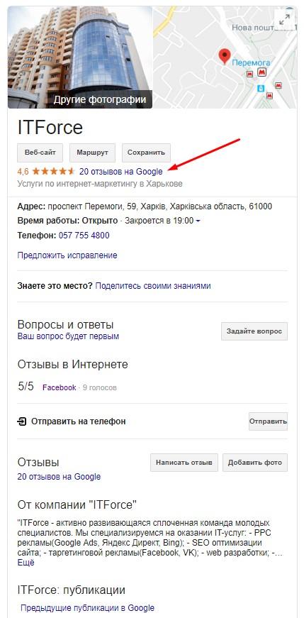Google.Мой бизнес