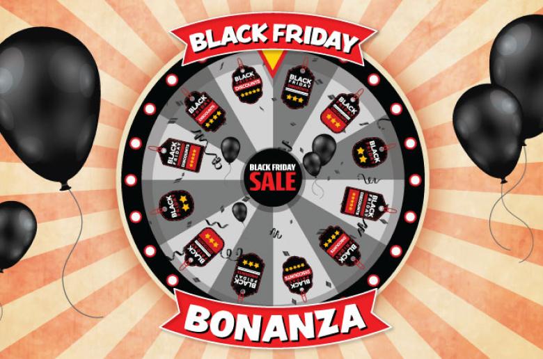 Black Friday Пример колеса фортуны
