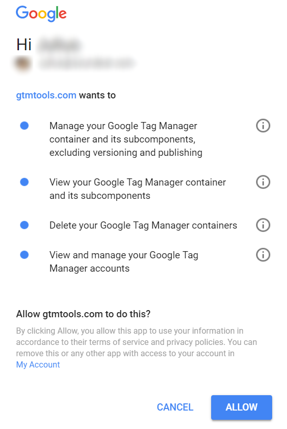 Google Tag Manager allows
