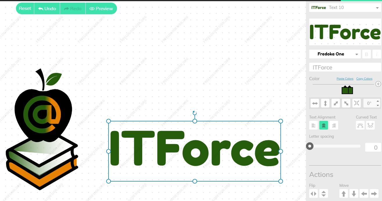Логотип с иконкой